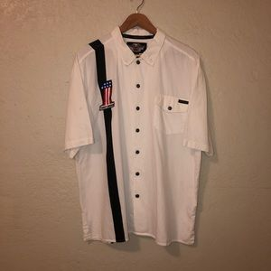 Harley Davidson Button Up Short Sleeve Shirt